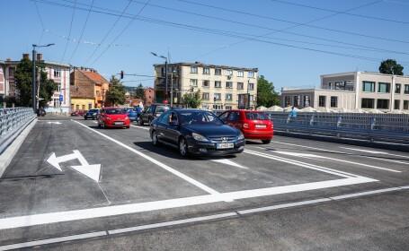 S-a deschis Podul Traian din Cluj-Napoca dupa aproape un an de zile