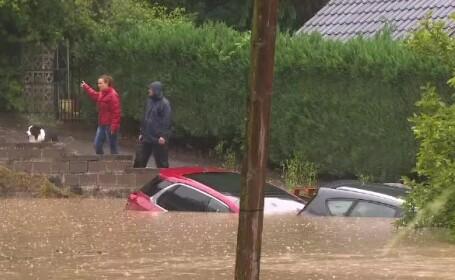 Inundaţii urmate de torente de noroi, în vestul Europei. \