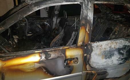 Maşina unui jurnalist din Timişoara, incendiată noaptea. \