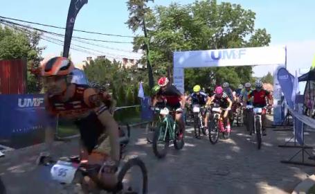 Concurs de mountain bike la Târgu Mureș. Au participat sute de pasionați de ciclism