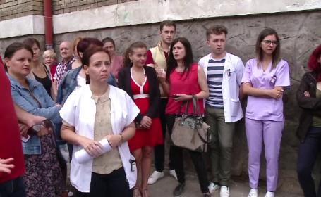 Noi amenințări cu demisia în masă, la un spital din România