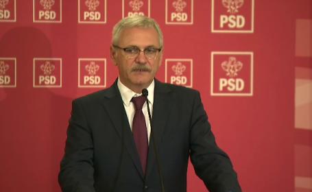 """PSD organizează miting pentru """"protejarea justiției"""", sâmbătă seara. Anunțul lui Dragnea"""