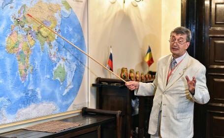 Ambasadorul Rusiei a criticat UE în timpul unei vizite în oraşe din România. \