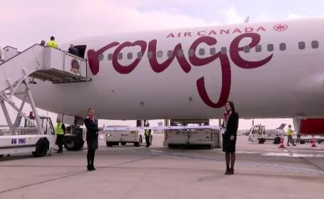 Air Canada Rouge a inaugurat primul zbor de la Montreal la Bucureşti