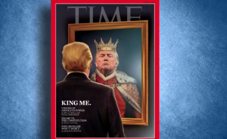 donald trump in time