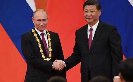 Vladimir Putin a primit la Beijing prima Medalie a prieteniei