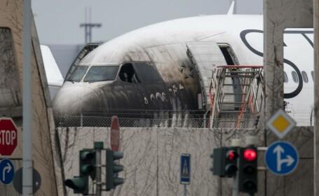 Incendiu Aeroportul din Frankfurt