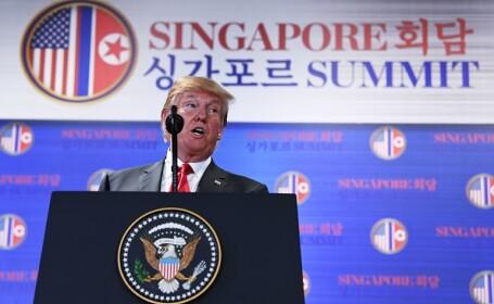 """Concluziile lui Donald Trump, în urma întâlnirii cu Kim Jong Un. """"Vom denucleariza complet peninsula"""""""