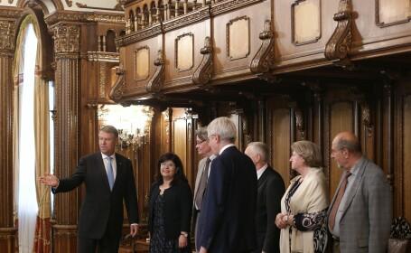 """Iohannis s-a întâlnit cu reprezentanţii comisiei de la Veneţia. """"Sunt foarte optimist\"""