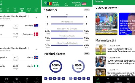 Aplicatie sport.ro 1