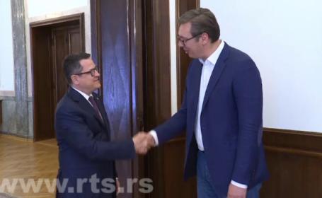 Directorul SRI s-a întâlnit cu președintele Serbiei. Despre ce au discutat