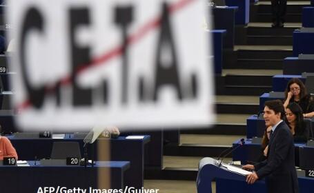 CETA, Justin Trudeau - AFP/Getty