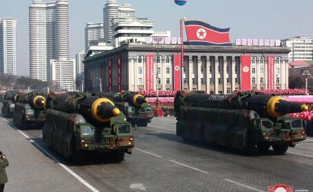 Coreea de Nord construieşte 2 rachete intercontinentale care pot lovi America