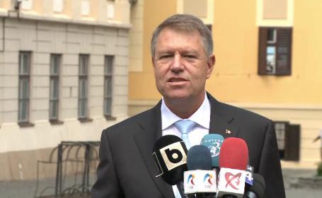 Iohannis a anunțat când va lua o decizie cu privire la numirea șefului DIICOT