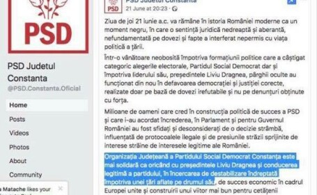 mesaj PSD Constanța