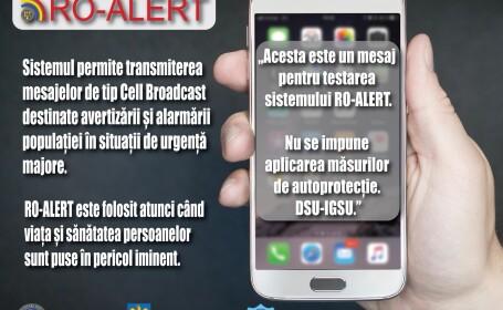 RO-ALERT, IGSU, sistem alertare populatie,
