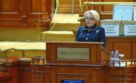 Viorica Dăncilă, Parlament