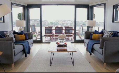 Londonezii preferă, mai nou, casele plutitoare de pe Tamisa. Prețul unei locuințe cu 2 dormitoare