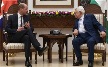 """AFP: """"Prințul William a părut să încalce limbajul diplomatic uzual"""". Ce a spus despre Palestina"""