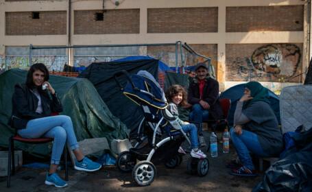 Tabără de romi evacuată, în Roma, după anunțul privind recensământul acestora