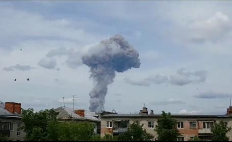 explozie, rusia, fabrica de explozibili, Gerjinsk