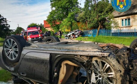 accident grav in Satu Mare