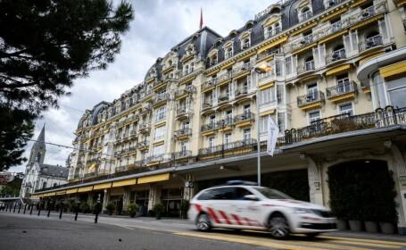 Hotelul din Montreux unde se reuneste Grupul Bilderberg