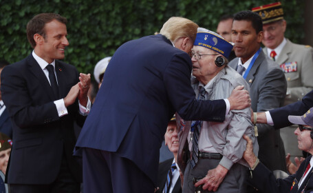 Răspunsul lui Trump pentru un bărbat de 93 de ani care a flirtat cu Melania. VIDEO