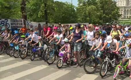 Peste 2.000 de copii au învăţat cum să se comporte în trafic atunci când merg pe bicicletă