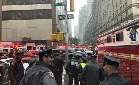 Elicopter prabusit la New York