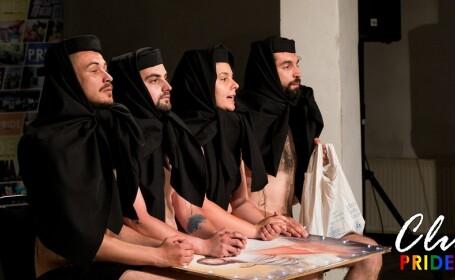 Reacția Patriarhiei la un spectacol în care actorii au tocat ceapă pe o icoană, la Cluj Pride
