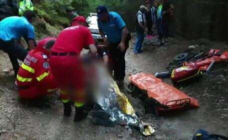 Un bucureștean s-a rănit la coloană după ce a căzut de pe un ATV, la munte