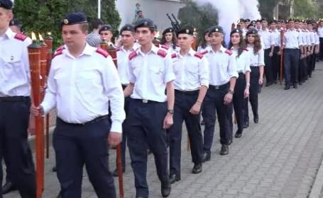 Emoții și lacrimi la absolvirea elevilor Colegiului Militar din Alba Iulia