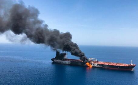 """Două petroliere, lovite în urma unui atac """"suspect"""" produs în Golful Oman - 3"""