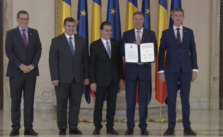 Invitația făcută de Iohannis partidului PSD la semnarea pactuli naţional