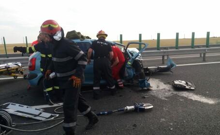 Accident cumplit în drum spre mare. O persoană a murit, iar alte șase au fost rănite. VIDEO