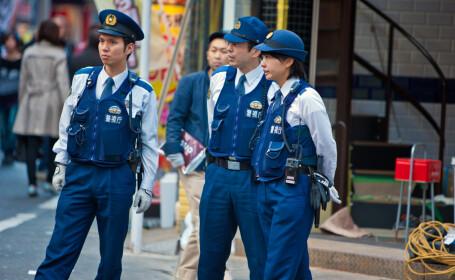 politie japonia