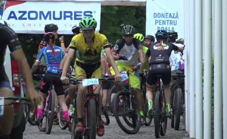 """Competiție cu sute de bicicliști, la Târgu Mureș. """"Ne descurcăm cum putem"""""""