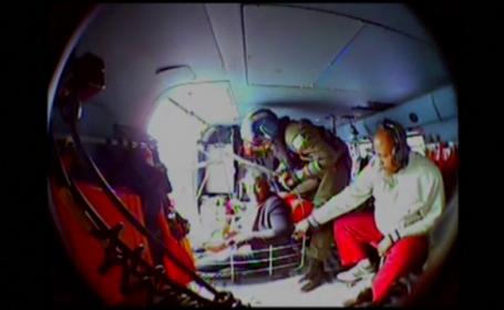 Intervenție de urgență pe un vas de croazieră. Ce s-a întâmplat cu un canadian de 55 de ani