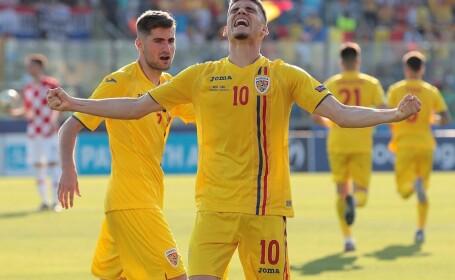 România - Croația, în primul meci al grupei C la Euro U21 - 4