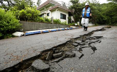 Japonia, afectată de un cutremur puternic