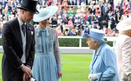 Kate, William si Regina