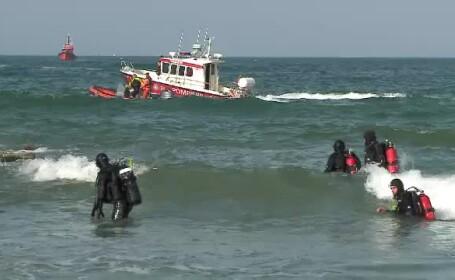 Trupul neînsuflețit al unei femei, văzut în Marea Neagră. Scafandrii nu au putut interveni