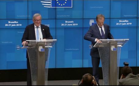 Summit de criză la Bruxelles pentru viitoarele funcţii de top din UE