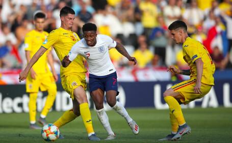Victorie uriașă pentru România în fața Angliei, scor 4-2, la Euro U21 - 23