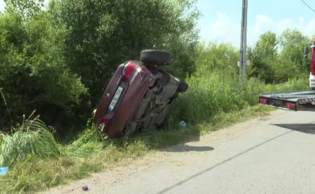 Tânăr de 31 de ani din Bistrița, mort după ce a fost proiectat prin parbriz