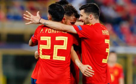 Spania, prima echipă calificată în semifinalele Campionatului European Under-21