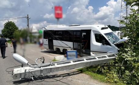 Accident la Voinești, Dâmbovița