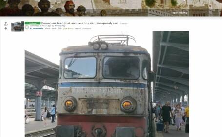 Reacțiile europenilor când au văzut pe Reddit poza unei locomotive din România