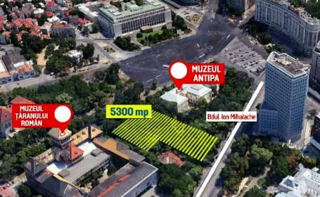 Muzeul Antipa riscă să piardă 5.300 mp, pentru a se construi Muzeul Holocaustului